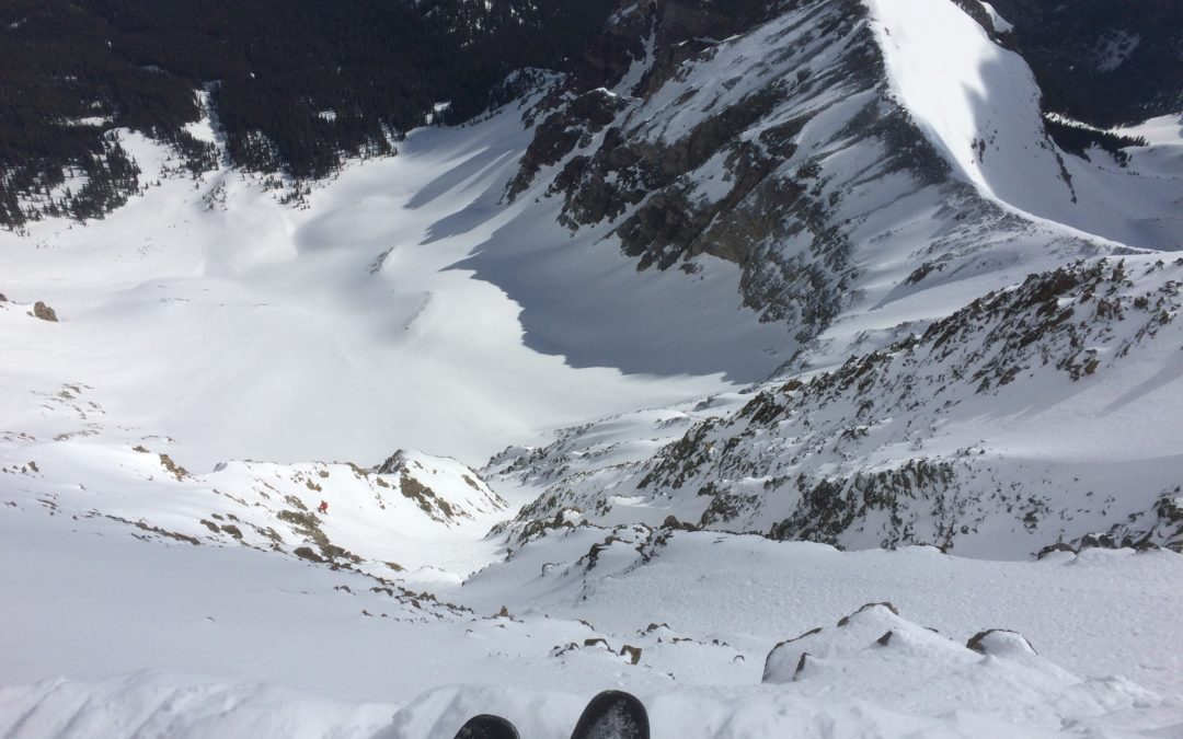How I got into Ski Mountaineering; Skiing Wilson Peak and Mt. Sneffels